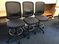 Boss design cashier chairs £65 each...BARGAIN