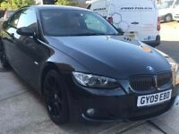 Bmw 335d red leather interior