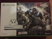 Xbox One S (1TB) Gears Of War 4
