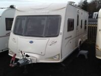2008 Bailey senator Indiana series 6 fixed bed 4 berth with fitted mover