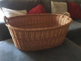 Extra large wicked basket 78cm x 55cm Hamper Christmas Gift Raffle