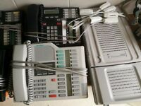 BCM 50b busisness communications manager telephone system BT / Meridian telephones.
