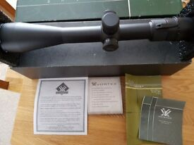 Vortex Viper 6.5‐20x50 PA Side Focus Excellent condition & all paperwork & boxed
