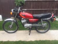CLASSIC 1987 - VERY RELIABLE YAMAHA RX-S 100 cc - 2 STROKE - COMMUTER MOTORBIKE - CBT READY !!!