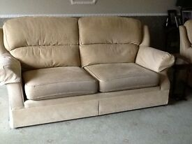 Marks and Spencer Sofa and Reclining Chair.