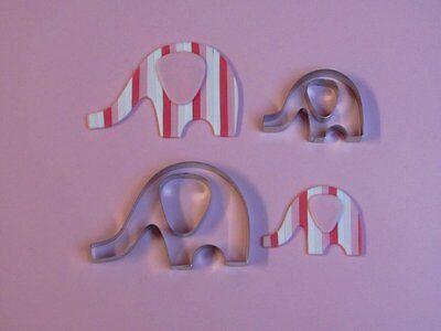 Elephant 2 Cutter set - Bien Collection - Sugarcraft Cake Decorating