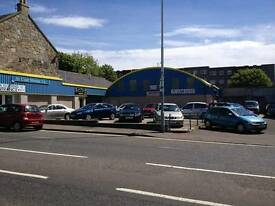 Car lot/ valet centre and office's to rent Kirkcaldy