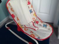 Baby for Chad Valley De Luxe Bouncer/rocker