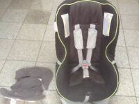 £40-Newborn to 4yrs-Brotax First Class Plus car seat-rear & forward facing,is washed and cleaned