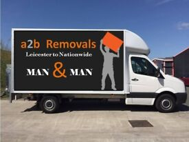A2B Removals Cheap House/Flats/Office Movers/Single Items delivery Man and Van Hire.House Clearance