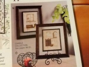 Bathroom Framed Art W Glass Retired Home Interiors Gifts