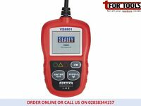 Sealey VS8801 EOBD Code Reader with Live Data AL319