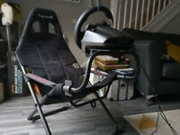 Playseat Challenge & Logitech G29 Wheel, Pedals & Shifter. (PS4)