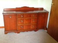 Sideboard solid cherry wood