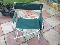 fishing chair good condition only £5.00