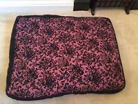 Damask Large Dog Bed