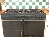 Gas range cooker new home 1000 inculding extractor fan for sale