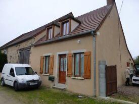 Lovely cottage in rural France (Lieu Boisseau, Pouzy Mesangy,