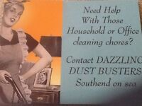 DAZZLING DUST BUSTERS give us your grime we'll make it shine