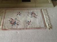 Cream Chinese rug