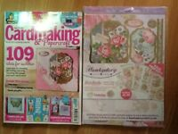 Cardmaking & papercraft magazine issue 184 July .brand new comes with free gift