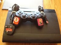 Sony PlayStation 3, with controller