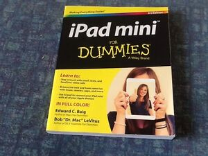IPad Mini for Dummies book 3rd  edition brand new Bayswater Bayswater Area Preview