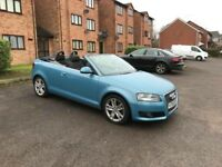 AUDI A3 convertible 2.0 diesel automatic