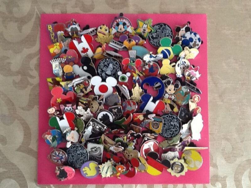 Disney Trading Pins-Lot of 100-No Duplicates-Free Shipping-USA Seller