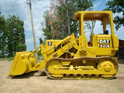 Large Decal Kit For Cat 941b Traxcavator High Lift - Caterpillar 941 Stickers