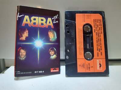 ABBA From ABBA With Love 1984 Holland Polydor MC ABBA Rare Cassette Tape