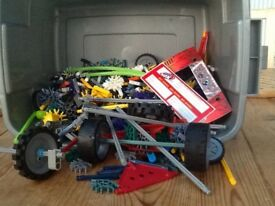 Big box of K'nex