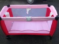 travelcot good condition only £7.00