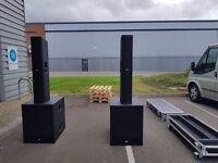 FBT Vertus CLA406A + Q 118SA System + Accessories