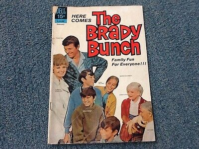 Brady Bunch #1 dell comic book, 1970 1st issue, very good condition