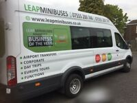 MINIBUS HIRE WITH DRIVERS - GET THE BEST MINIBUS & COACH HIRE RATES - BOOK TODAY & SAVE UP TO 30%