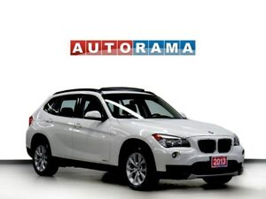 2013 BMW X1 NAVIGATION LEATHER PAN SUNROOF 4WD ALLOY WHEELS