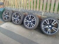 4 alloy wheels (size 18) [GOOD CONDITION]