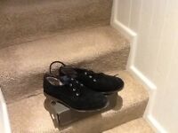 Gents Ugg brand smart casual,shoes,black suede,UK size10 excellent condition,only £6,pos loc deliver