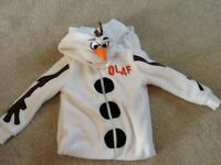 Children's Olaf Onsie age 5-6 years