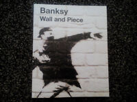 Banksy- Wall and Piece hardback book. £12 ONO