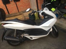 **SOLD** PCX 125cc. 2012. White. Genuine low mileage.