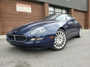 2002 Maserati Coupe LEATHER 26K ONLY GT PKG 26 K ONLY