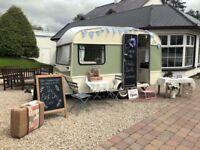 Rosie the photo booth caravan for weddings