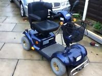 wheel-tech mercury m 48 very large mobility scooter road legal
