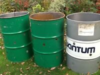 Oil drums, garden incinerators, barbeque, smoker, fuel storage