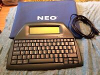 Alphasmart Neo. Portable Word Processor.