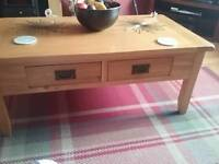 Wanted a tv unit to match the coffee table in the pic