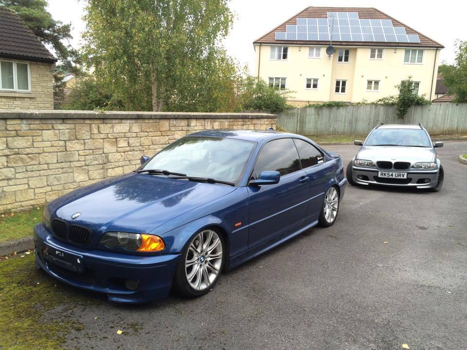bmw 325ci e46 m sport coupe modified in bath. Black Bedroom Furniture Sets. Home Design Ideas