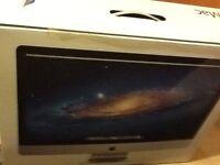 Apple iMac computer 27' screen
